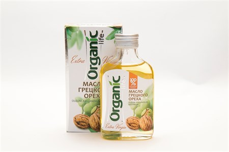 Масло грецкого ореха  Органик  100 мл - фото 5177