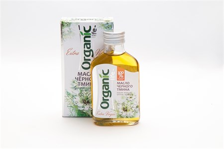 Масло ™  Organic  черного тмина, 100 мл - фото 5219