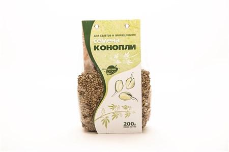Семена конопли пищевой 200гр. - фото 5238
