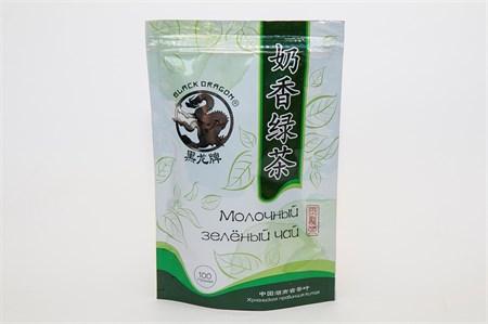 Чай ™  Черный дракон   Молочный зелёный 100г - фото 5459