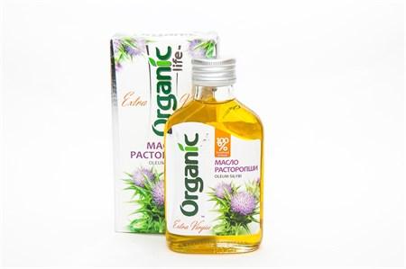 Масло ™  Organic  расторопши, 100 мл - фото 5622