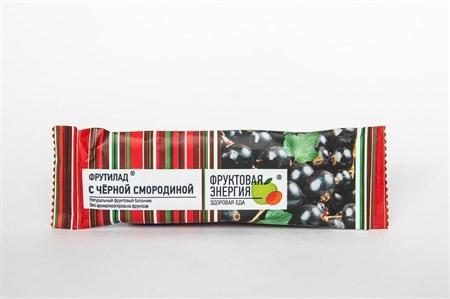 Фруктовый батончик неглазированный  Фрутилад с черной смородиной   30 г - фото 5632