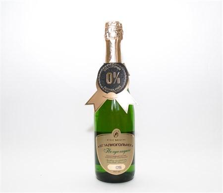 Шампанское ™  Absolute Nature  безалкогольное Полусладкое 0,75л. - фото 5799