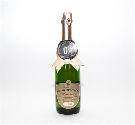 Шампанское ™  Absolute Nature  безалкогольное Мускатное 0,75л. - фото 5800