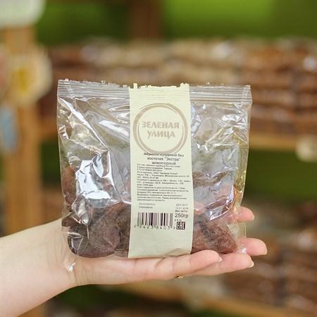 Абрикос сушеный б\к  Экстра  шоколадный 250г. - фото 6184