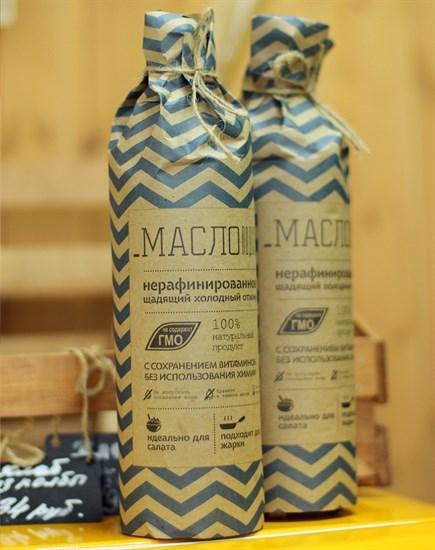 Масло подсолнечное ™  КФХ Якушев   холодного отжима, 1 л. - фото 6277