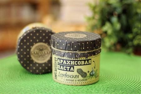 Арахисовая паста ™  Благодар  деревенская, 300 гр - фото 6381