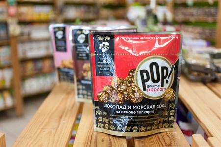 Попкорн ™  POP!  Шоколад и морская соль 100 гр. - фото 6494