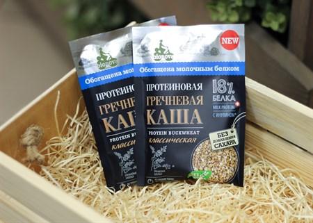 Каша ™  Bionova  протеиновая гречневая классическая, 40 гр. - фото 6817