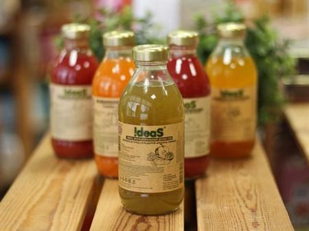 Сок ™  IDEAS  яблоко-огурец-сельдерей-лимон-имбирь 0,33 л. - фото 6896