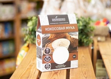 Мука ™  polezzno  кокосовая 500 гр. - фото 7119