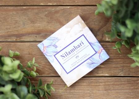 Шоколад ™  Nilambari  белый с чаем матча и мятой ,65 гр. - фото 7151