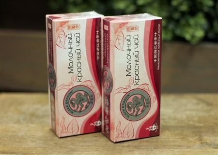 Чай ™  Черный дракон  Молочный красный пакет 2г*25п - фото 7262
