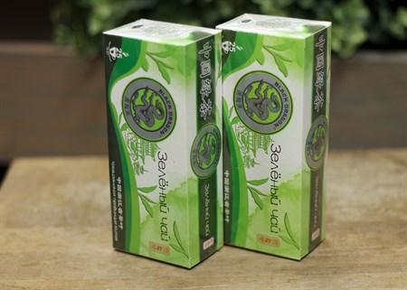 Чай ™  Черный дракон  Зелёный пакет 2г*25п - фото 7264