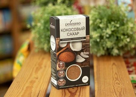 Кокосовый сахар™  polezzno  100 гр. - фото 7305