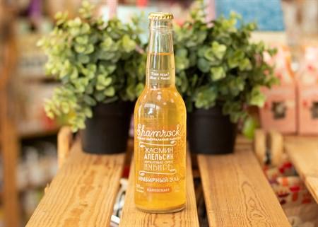 Напиток ™  Shamrock Handicraft  Имбирный Эль  Жасмин  0,33 л. - фото 7372