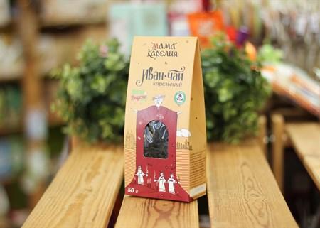 Иван-чай ™  Мама Карелия  без добавок 50 гр. КАРТОН - фото 7412
