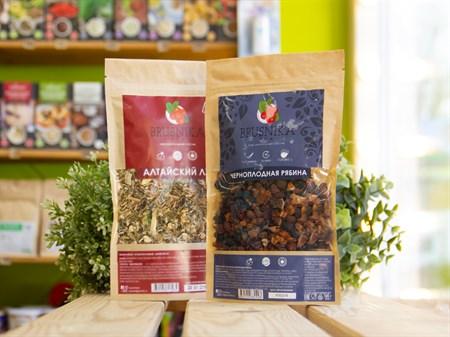 Чай фруктовый ™  BRUSNIKA TEA  Черноплодная рябина 100 гр. - фото 7439