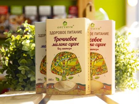 Молоко сухое ™  ОРГТИУМ  гречневое 100 гр - фото 7515