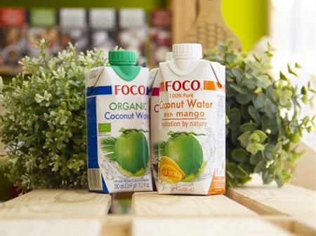 Кокосовая вода ™  FOCO  с манго 330 мл - фото 7549