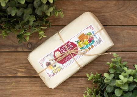 Пастила ™  Старые Традиции  яблочная С ВИШНЕЙ без сахара 300 гр. - фото 7571