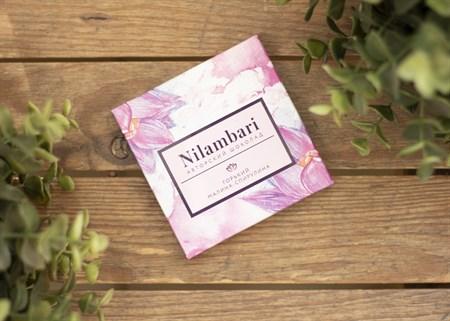 Шоколад ™  Nilambari  горький малина -спирулина, 65 гр - фото 7734