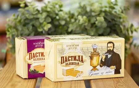 Пастила ™  Белевский десерт  классическая яблочная (в коробке), 200 гр - фото 7888