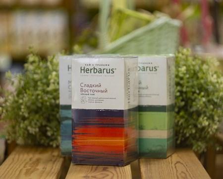 Чай чёрный с травами ™  Herbarus  Сладкий восточный в фильтр пакетах 24 шт *2г - фото 7923