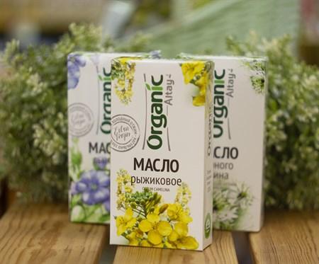 Масло ™  Organic   рыжиковое, 100мл. - фото 7948
