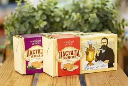 Пастила ™  Белевский десерт  с земляникой (в коробке), 200 гр - фото 7953