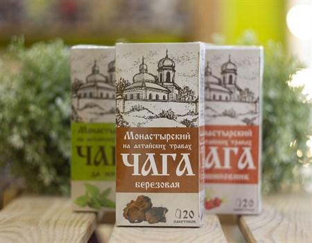 Травяной сбор ™ Chagoff    Монастырский  на алтайских травах  Чага   30 гр. - фото 8003
