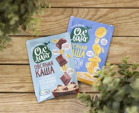 Каша овсяная молочная ™  Ол Лайт с шоколадными кусочками 40 гр - фото 8222