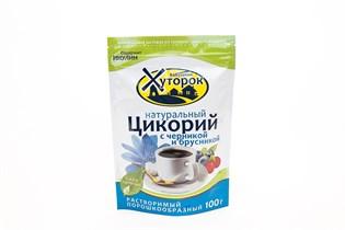 Цикорий ™  Хуторок  с Черникой и Брусникой  100 г.