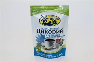 Цикорий ™  Хуторок  с Черникой и Шиповником  100 г.