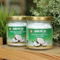 Кокосовое масло ™  AROY-D  (extra virgin) , 180 мл.