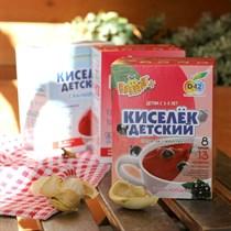 Кисель ™  Валетек  с витаминами ЧЕРНАЯ СМОРОДИНА (25гр. -8 шт)
