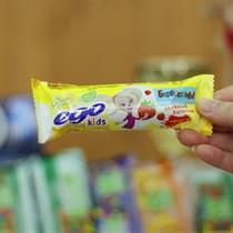 Батончик злаковый ™  EGO KIDS   Клубничный десерт  25 гр.