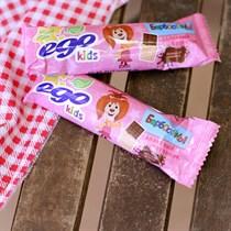 Батончик злаковый ™  EGO KIDS   Молочный шоколад  25 гр.