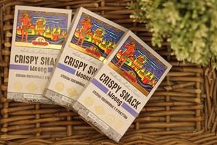 Хлебцы Индийские ™  CRISPY SNACK  с кунжутом (не жгучие),60гр.