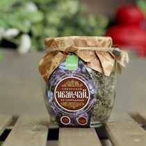 Иван-Чай ™  Сибирский  листовой со смородиной, банка 100г