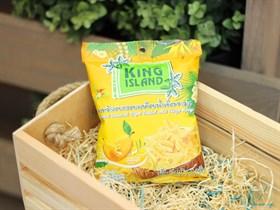 Кокосовые чипсы  ™  KING ISLAND  с манго ,40 гр.