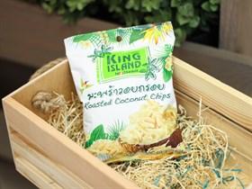 Кокосовые чипсы  ™  KING ISLAND ,40 гр.