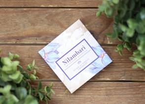 Шоколад ™  Nilambari  белый с фундуком,65 гр.