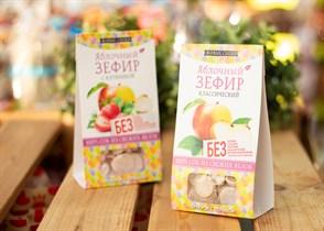 Зефир ™  Живые Снеки яблочный 60 гр