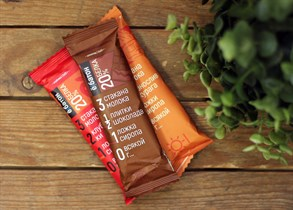 Батончики ™  Ё батон 20% протеина Шоколад,50 гр
