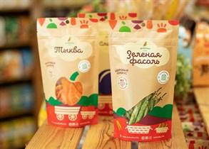 Здоровый овощной перекус из зеленой фасоли ™Зеленика  30 гр.