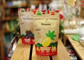 Здоровый фруктовый перекус из ананаса ™Зеленика  20 гр.