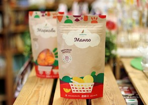 Здоровый фруктовый перекус из манго ™Зеленика  20 гр.