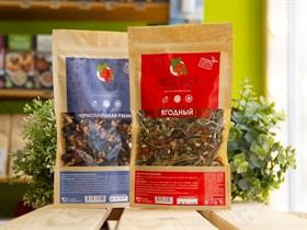 Чай ягодно-травяной ™  BRUSNIKA TEA  Ягодный 100 гр.