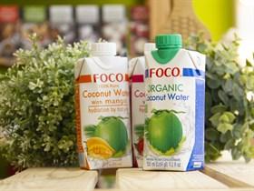 Кокосовая вода ™  FOCO  органическая 330 мл